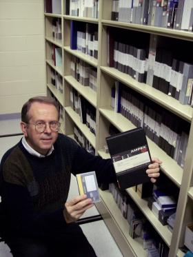 An archive of over 600 video tapes have been amassed as part of the William Inge Theatre playwright interviews.