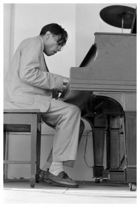 Jazz pianist and composer Horace Silver