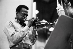 Legendary jazz artist Miles Davis