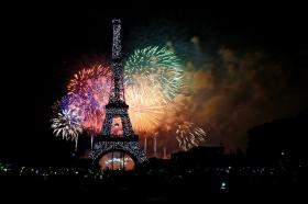 Celebrate Bastille Day, or French National Day, Monday