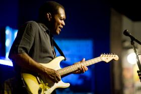 American blues guitarist Robert Cray
