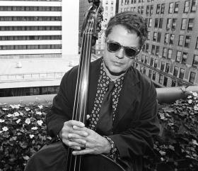 Jazz bassist Charlie Haden