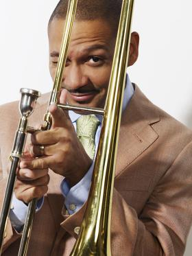 Jazz trombonist and record producer Delfeayo Marsalis