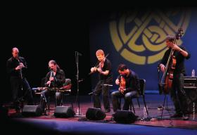 Celtic band Lunasa