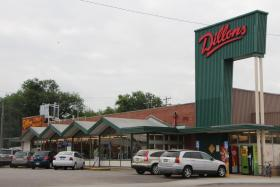 The Dillons grocery store at Broadway and Harry.