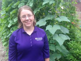 Rebecca McMahon is a horticulture agent for the Sedgwick County Extension office.