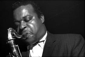 Jazz tenor saxophonist Gene Ammons