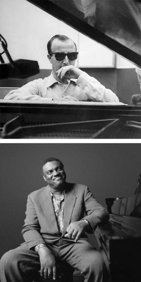 Pianists George Shearing and Mulgrew Miller