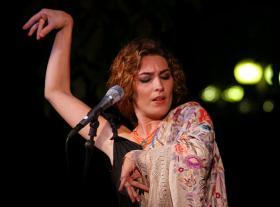 Spanish flamenco singer Estrella Morente