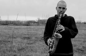 Hungarian jazz saxophonist Viktor Toth