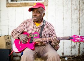 81-year old debut blues artist Leo Welch