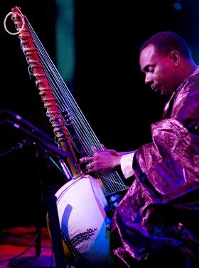 Toumani Diabate, August featured artist and kora player