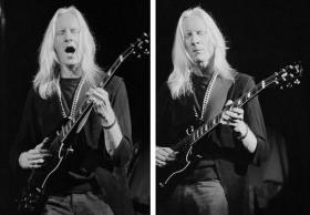 Blues-rock guitar legend Johnny Winter