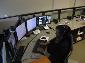 Vanessa Downing has been a call-taker at Sedgwick County Emergency Communication 9-1-1 Call Center for 25 years.
