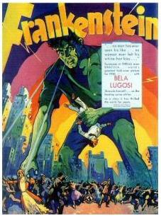 Castle thunder recorded for Frankenstein in 1931 was used for decades in other work in film and television.