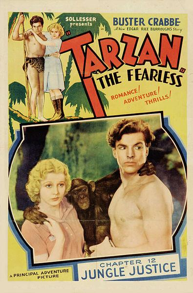 Some distinctive cries come from specific fictional characters, the 1932 Tarzan yell, for example.