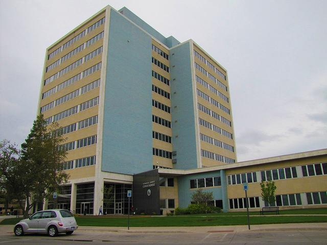 The Sedgwick County Courthouse.