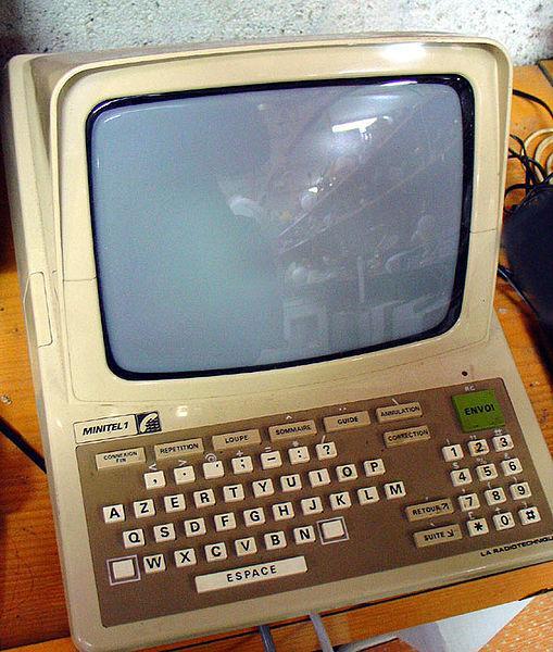 A minitel from 1982.