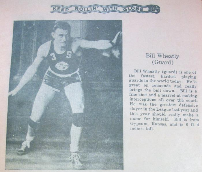 Player Bill Wheatly.