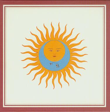 Cover of King Crimson's  <>Larks Tongues In Aspic</i>