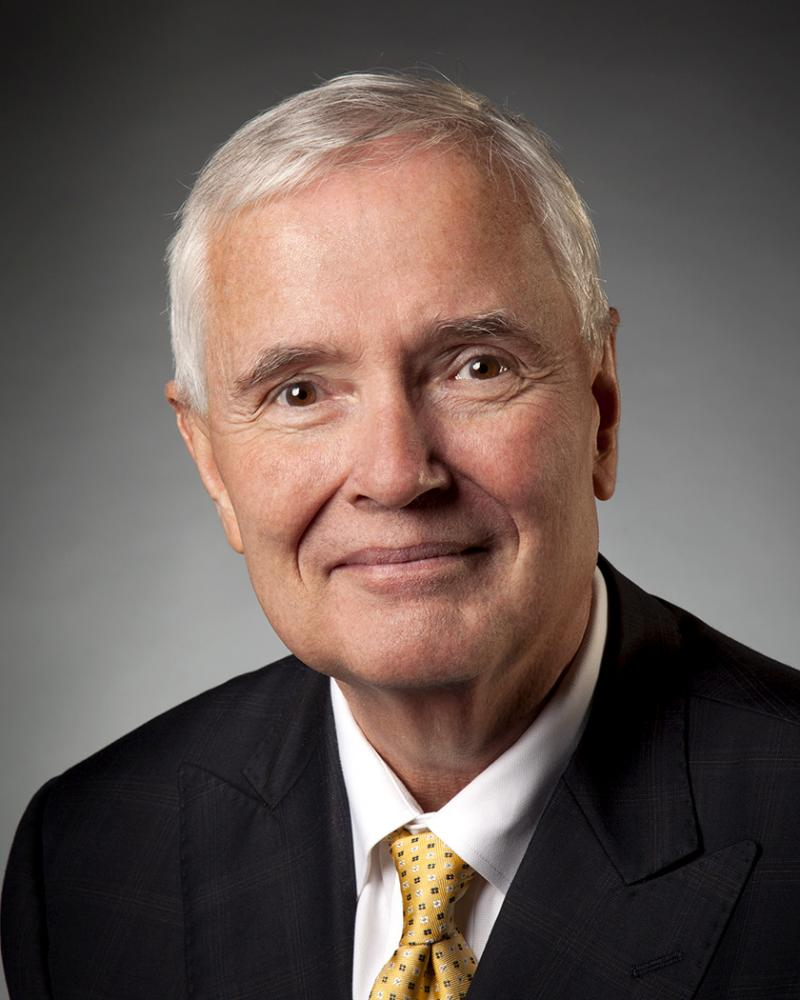 WSU's 13th president, Dr. John William Bardo.