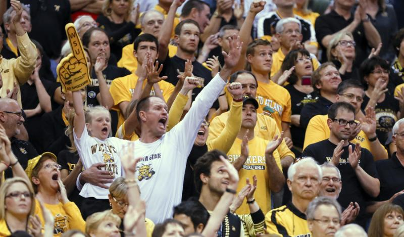 Shocker fans in Los Angeles, Calif., March 28 - 30.