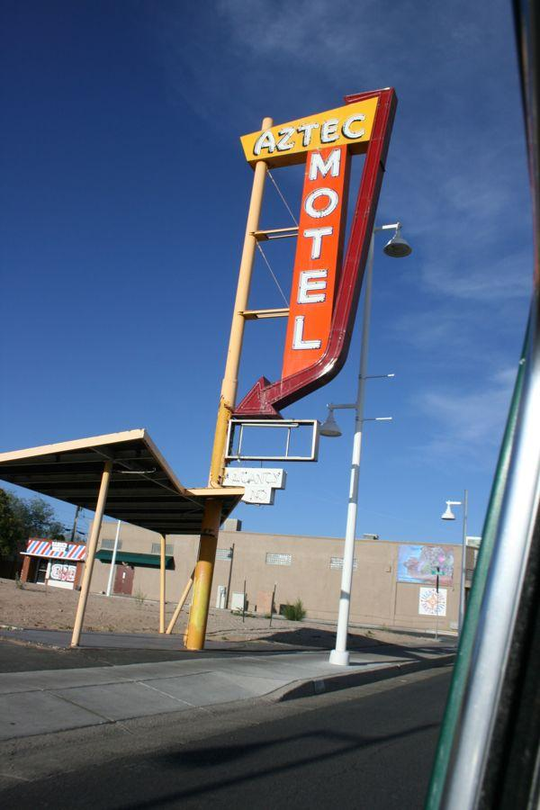 Aztec Motel in Albuquerque, N.M., in 2013