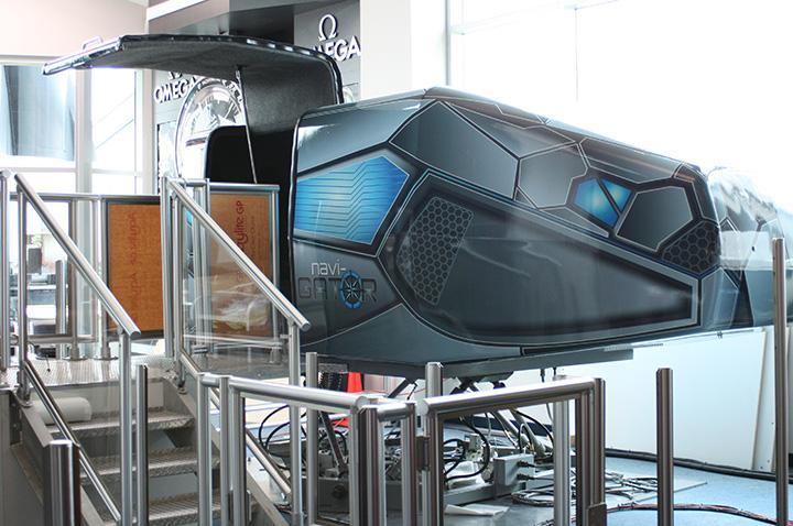 space shuttle simulator ride - photo #4