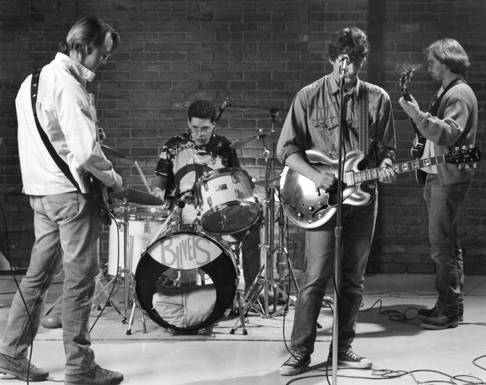 The Blivets in 1991.