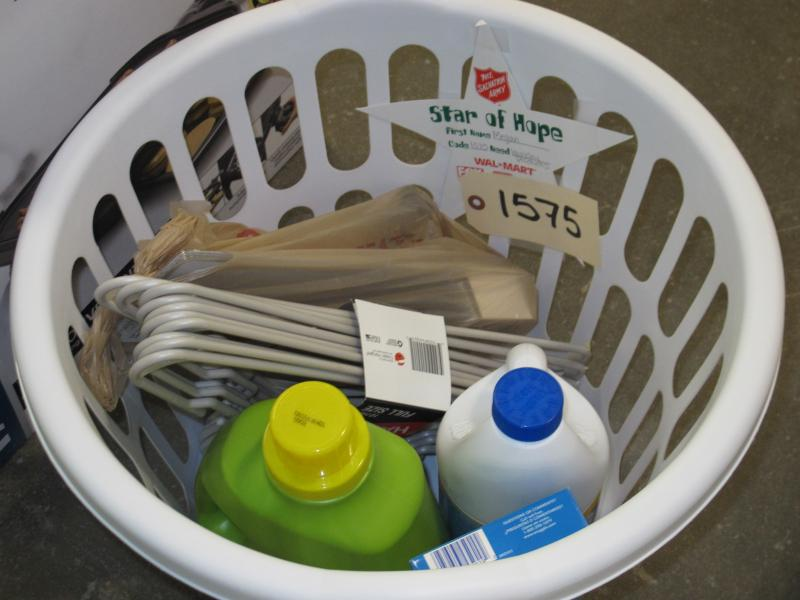 One recipient asked for simple laundry items this year