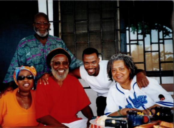 Wakeelah takes a group back to their homeland of Ghana