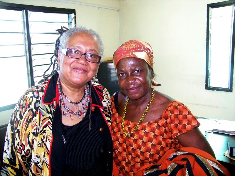 Queen Mother Esther and Wakeelah.