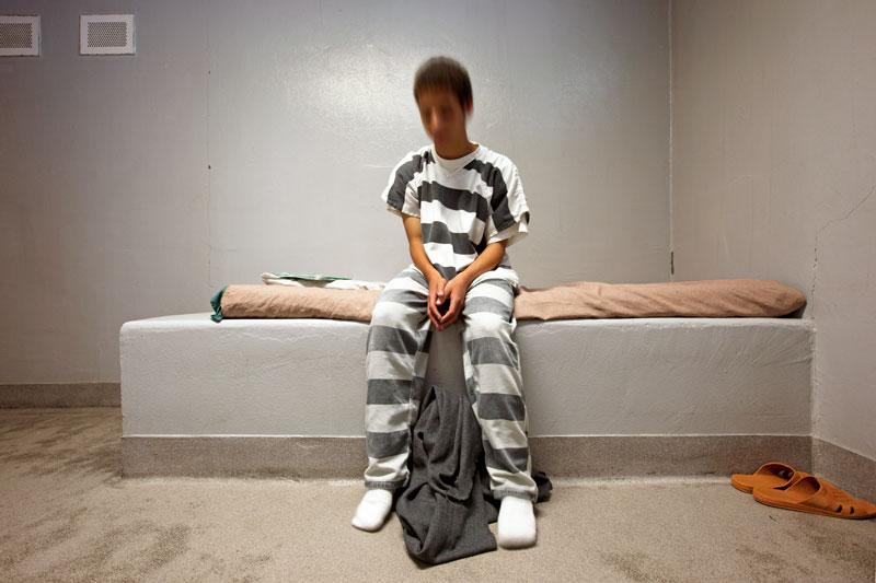 Richard Ross, Southwest Idaho Juvenile Detention Center, Caldwell, Idaho, 2, 2010. Digital inkjet print, 38 x 24 in. Courtesy of the artist