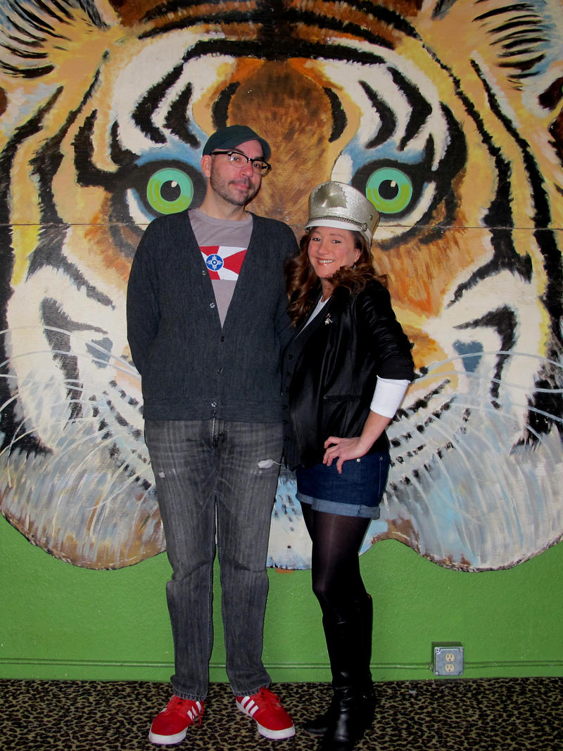 Angela Mallory and her business partner, Michael Carmody, started the Donut Whole 5 years ago.