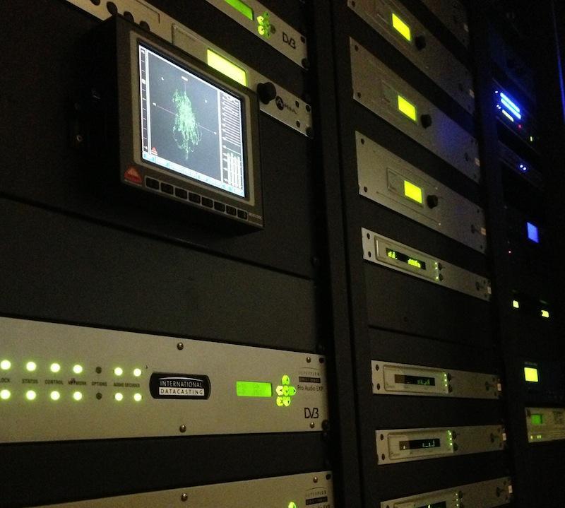 KMUW's Studio control racks.