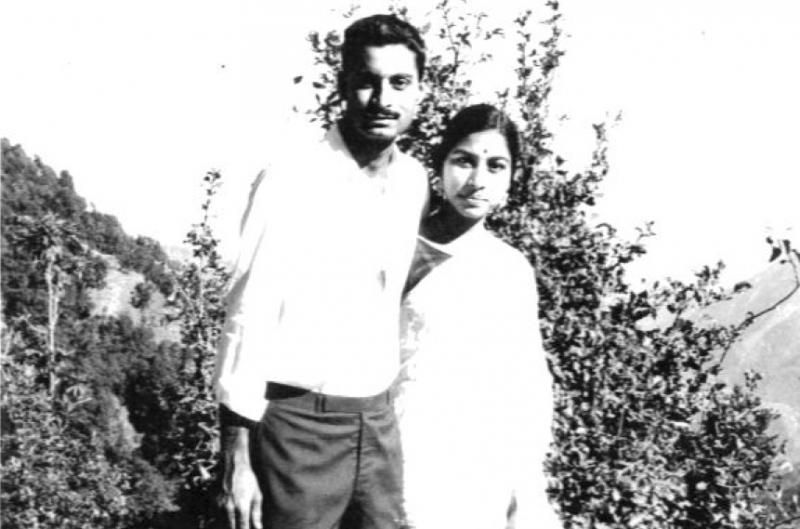Mohan and Lakshmi in 1968