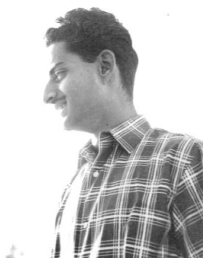 Mohan as a young man