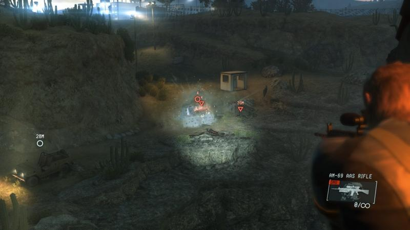 Screenshot from 'Metal Gear Solid V: Ground Zeroes'