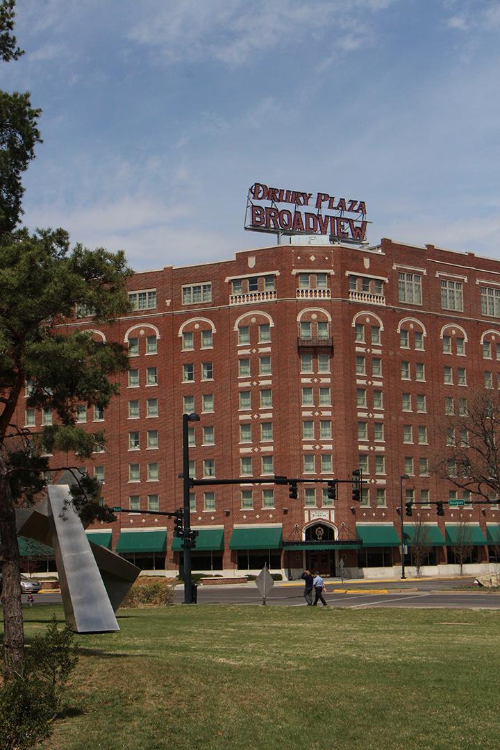 The Drury Plaza Hotel Broadview - known previously as just The Broadview Hotel.