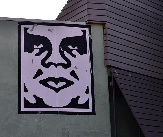 Shepard Fairey's Andre The Giant print