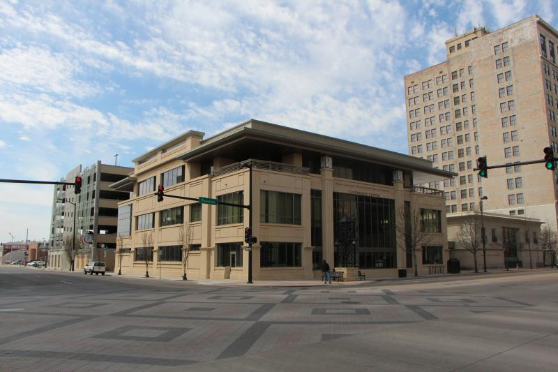 The Kansas Leadership Center was the first new building on Douglas in nearly 40 years.