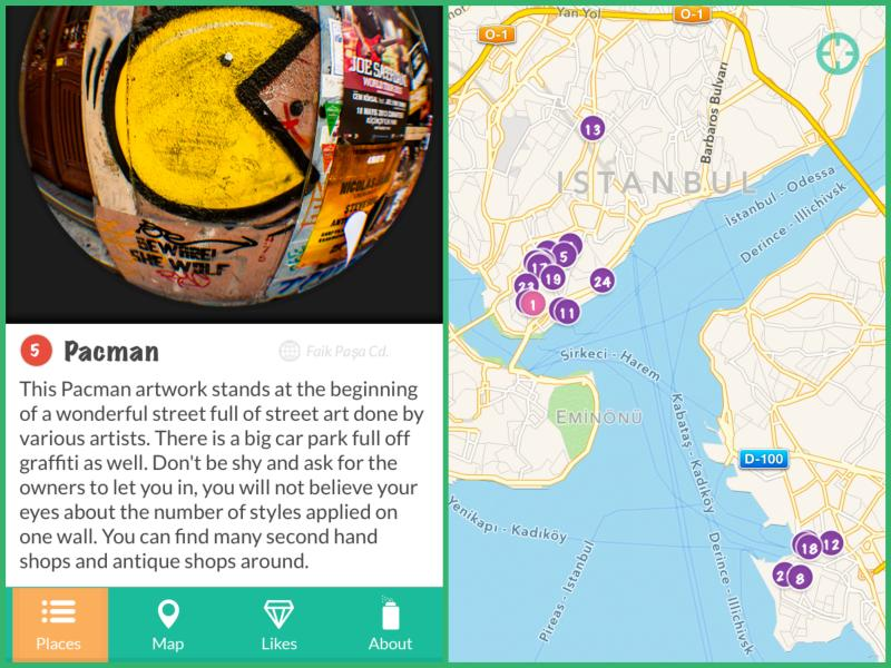 """Street Art Istanbul"" is currently available in Apple's App Store."