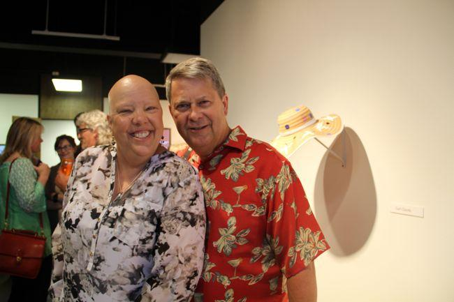 Ruth and Scott Martin at the opening reception for Fill It To the Brim, June 5, 2014.