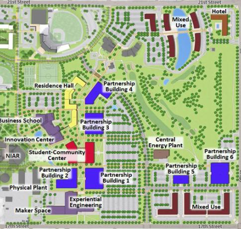 An overview of the plans for Innovation Campus