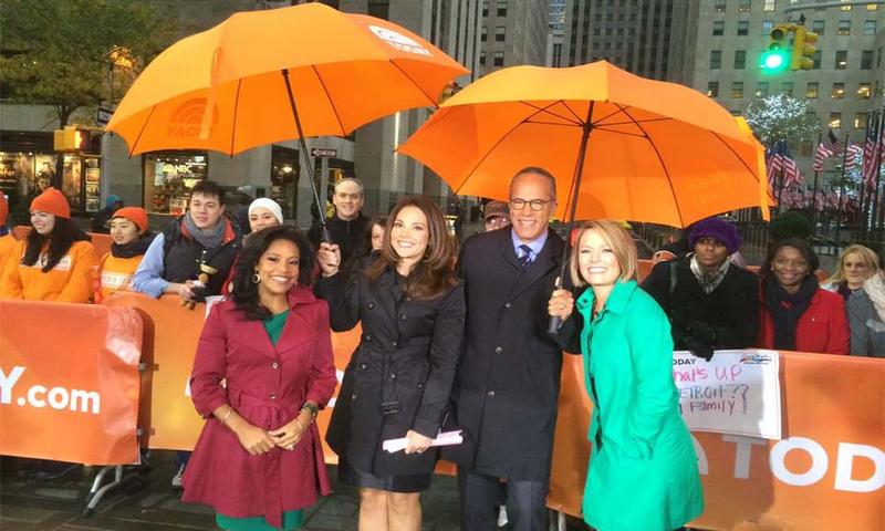 Sheinelle poses with fellow 'Today' show anchors.