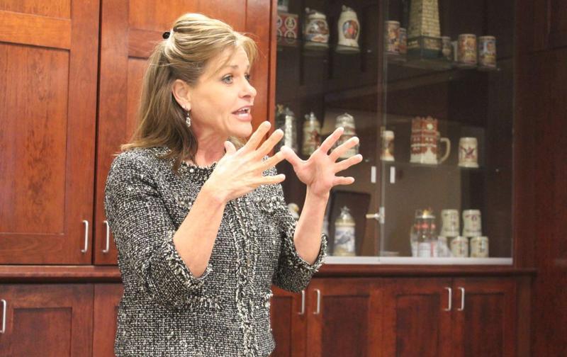 Rep. Lynn Jenkins speaking in 2014.