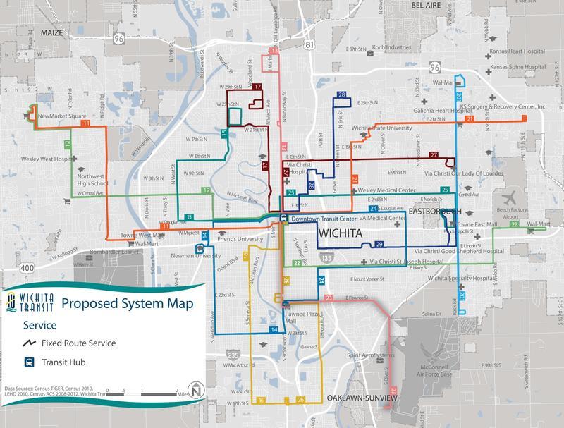 Wichita Transit Debuts New Bus Routes Fares KMUW