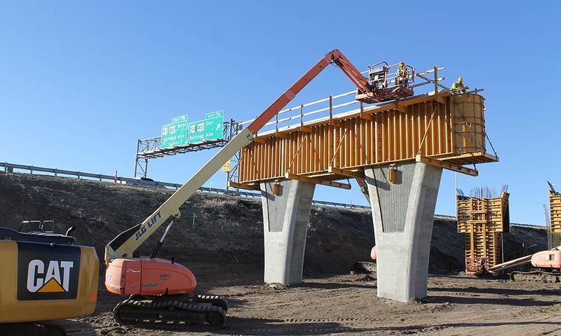 Kellogg in west Wichita will close again this weekend as part of the ongoing project at I-235.