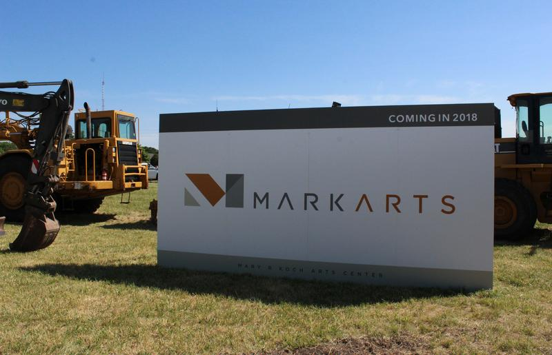 Wednesday's ceremony unveiled the Wichita Center for the Arts' new name: Mark Arts.