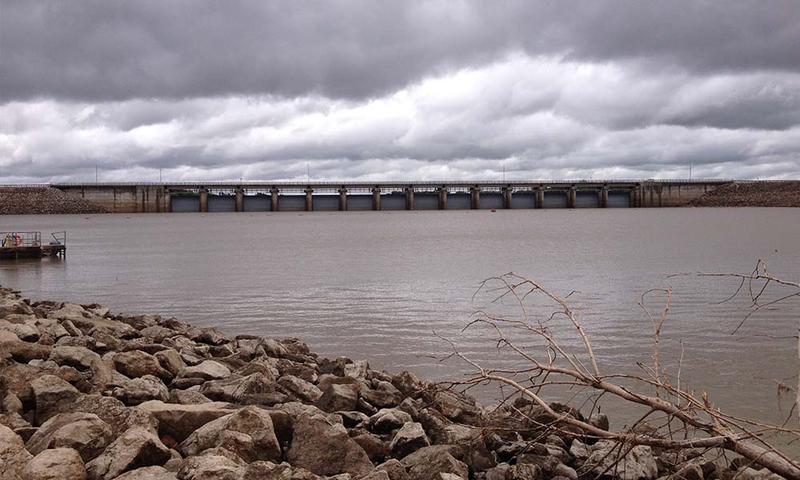 John Edmond Reservoir in eastern Kansas.